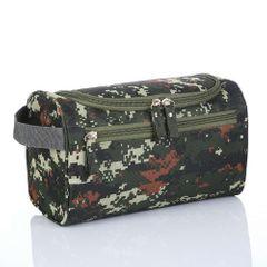 Men's travel wash bag tour waterproof large capacity storage bag Green one size
