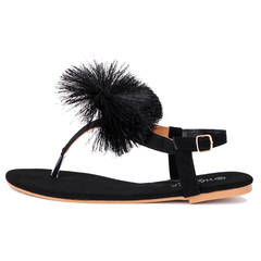 Ladies and Women sandals Black 37