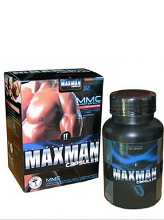 Maxman 60 capsules One package
