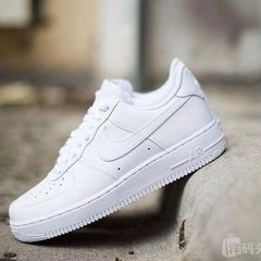 AIR force one low AIR classic couple small white shoes for men and women for casual shoes white 37