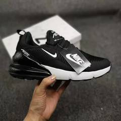 The new 2019 Max270 men's shoes air cushion shock breathable running shoes black&red 41
