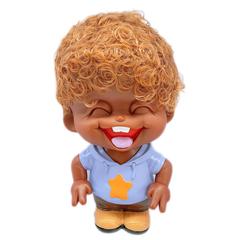 Lovely Doll Funny Emojis Saving Pot Piggy Bank Chritsmas Gift for Kids 1 16.5*11*28.5cm