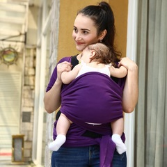 Comfortable Baby Carrier Strape Slings Wrap purple 20kg maximum