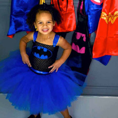 Hot sale Hollowen Costume princess Girl Dress Blue 160