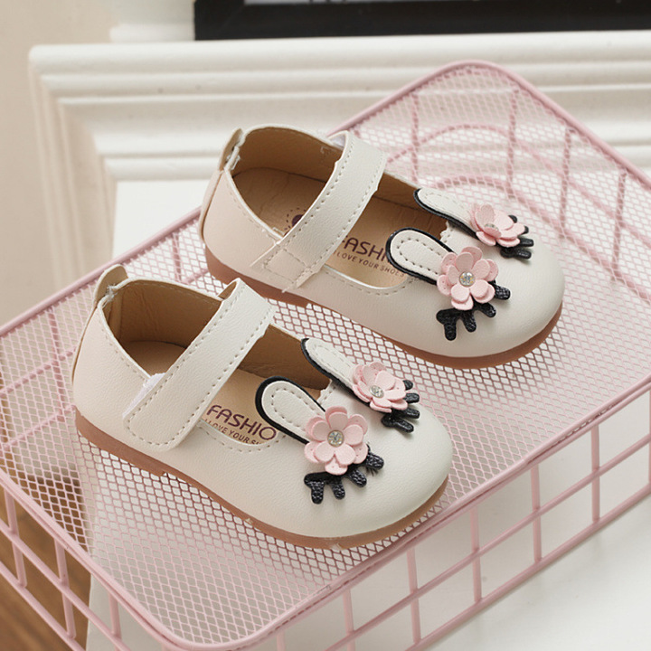 Cute Baby Girl Shoes Dress Shoes White 15