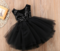 Bubble Skirt Princess Girl Dress Christmas Dress Red 120