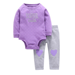 2019 Hot Baby Rompers and Pants for boys and girls color 3 6M
