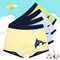 Boys'Underwear Panties Boxer Shorts 2pcs/4pcs Package grey+blue+yellow+green 150