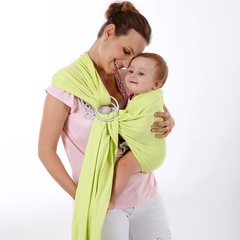 Hot Sale Multifunction Baby Carrier Straps Slings Wrap with Light Metal Hoop for maximum 20kg green 20kg maximum