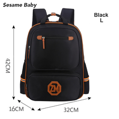 2019 New Fashion British Style Boy Girl School Bag black s