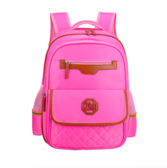 Aristocratic Bookbags School Bags Backpacks Water Resistant Big Capacity Size pink 43*32*20cm