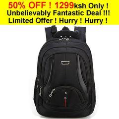 large space school backpack school bags water resistant multifunctional designed Black 46*32*16cm