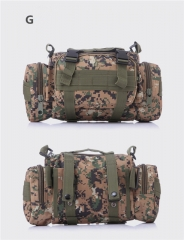 3P Military Tactical waist pack Camera bag Camouflage leisure bags 15L G one size
