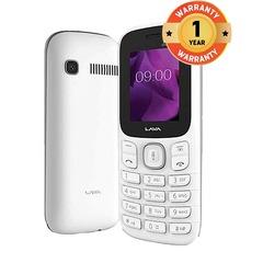 Lava Champion N1 1.8 Inch Dual Sim 24MB RAM 32MB ROM Smartphone Mobile Phone White