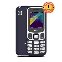 Lava Prime X (Unbreakable) 1.8 Inch Dual Sim Phone Mobile Phone blue