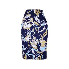 Fashion Flower print women skirts lady midi saias female faldas girls slim bottoms S-4XL WWP053 XXL