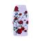 3D red rose print women middle faldas S-4XL pencil skirts fashion design girls slim bottoms WWP031 L