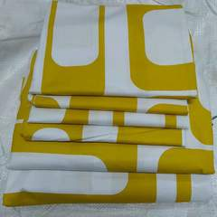 6*6 cotton bedsheets consists of 4pillow cases and 2 bedsheets pink 6*6