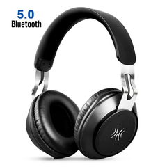 OneOdio Over Ear Wireless Headphones Bluetooth 5.0 Hi-Fi Stereo Built-in Mic For PC Cell Phones TV black