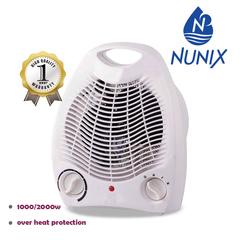 Nunix Fan Heater 1000/2000W White