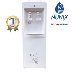 Nunix  Hot and Normal Free Standing Water Dispenser-White White