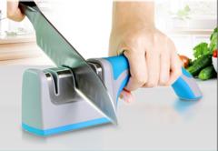 Household fast knife sharpener Sharpening stone Sharpening knife Sharpening stick Small tool Blue