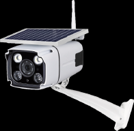 Low Power Consumption WIFI Solar Camera white