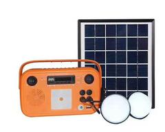 3W Bluetooth Speaker Solar System with Lithium Battery orange 3w