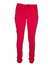 Alladin-Forever Young -Stretchy Skinny Jeans in -Rich Red Red 3