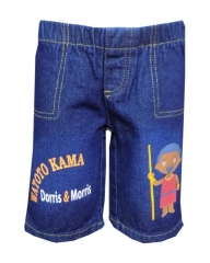 Blue Baby Toddler Boys Cartoon Shorts blue denim 2t