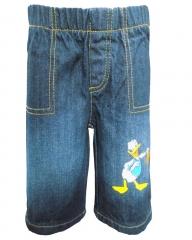 Alladin-Dorris & Morris Blue Denim Kids Toddler Cartoon Donald Duck shorts blue denim 2t