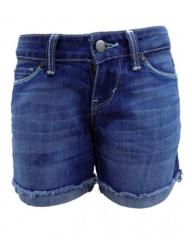 Alladin-Forever Young Midi Short - Denim Blue denim blue 30