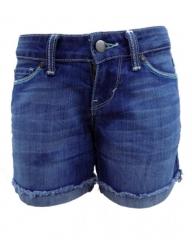 Alladin-Forever Young Midi Short - Denim Blue denim blue 0