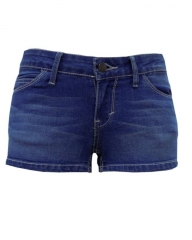 Alladin-Blue - Shorty Shorts Blue 28