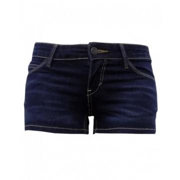 Alladin-Navy Blue Denim - Shorty Short Navy Blue Denim 5