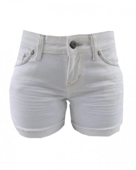 Alladin-White - Forever Young Midi Short White 3
