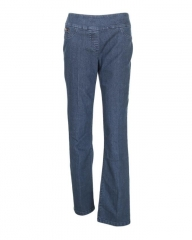 Alladin-Deep Indigo Blue - Classic Pull On Fit Jeans Deep indigo blue 8