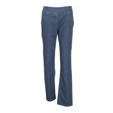 Alladin-Deep Indigo Blue - Classic Pull On Fit Jeans Deep indigo blue 8