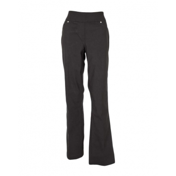 Alladin-Black - Classic Pull On Fit Pants Black 18