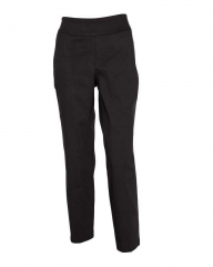 Alladin-Black - Classic Pull On Fit Trousers Black 14