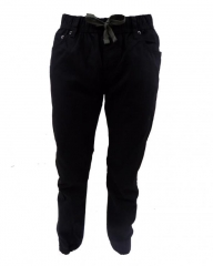 Alladin-Black - Boys Jogger Pants Black S