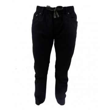 Black - Boys Jogger Pants Black M