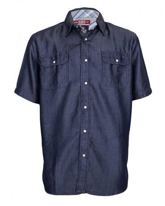 Alladin-Blue - Men's Denim Shirt Blue S