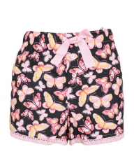 Pink Butterfly Print Boxer Shorts Pink Butterfly XL