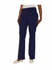 Alladin-Straight Leg Pull on Classic Pant dark navy 10