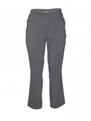 Alladin-Straight Leg Pull on Pant med grey 12