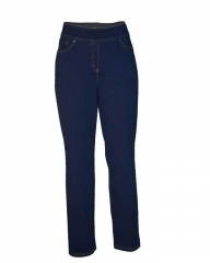 Alladin-Curvy-fit Pull on Jegging indigo l