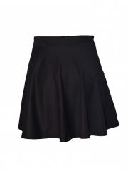 Black Skater Skirt black m