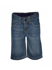 Blue Stone Denim Boys Shorts dark blue stone 3t