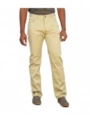 Alladin-Beige Straight Fit Twill Pants beige 28